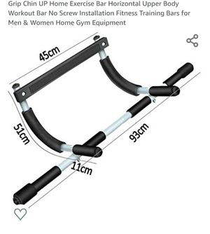 Door gym pull up bar for Sale in Lakewood, CA