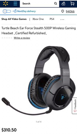 Turtle Beach Ear Force Stealth 520p Wireless Gaming Headset. for Sale in Sarasota, FL