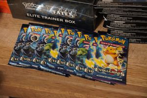 Pokemon Evolution Boosters x10 Spanish Rare to find for Sale in Lewisville, TX