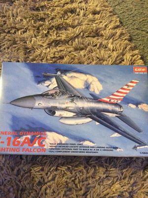 F-16 A/C fighting falcon model for Sale in Tacoma, WA