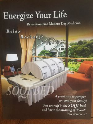 SOQI Bed with Chi Machine for Sale in Brentwood, TN