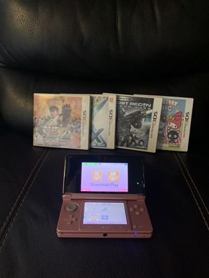 Nintendo 3DS Video Game Console System Pink 3D Handheld Gaming for Sale in Phoenix, AZ