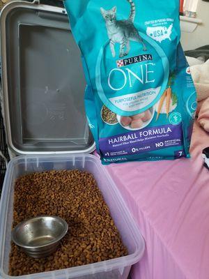 Free cat food for Sale in Norfolk, VA