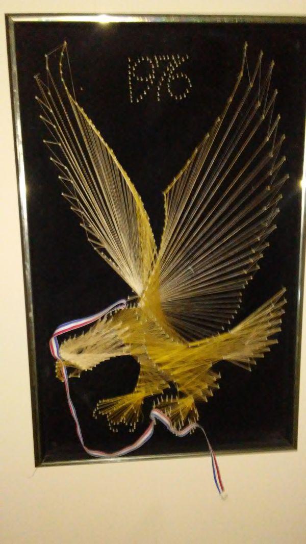 Framed American Eagle