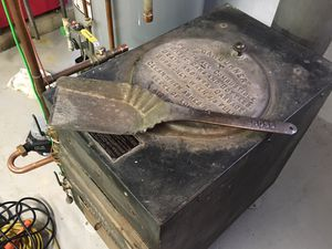 Antique coal scoop by Boss for Sale in Chicago, IL