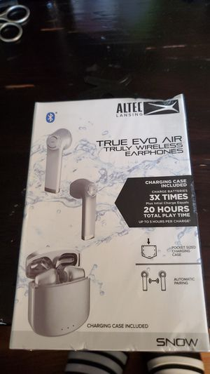 Altek true eco air Bluetooth wireless headphones for Sale in Seattle, WA