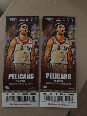 Pelican Tickets Tonite Game for Sale in New Orleans, LA