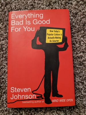 Everything Bad is Good For You by Steven Johnson for Sale in Aurora, OR