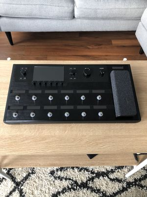 Line 6 Helix Guitar Multi-Effects Processor AND Helix case/backpack for Sale in Renton, WA