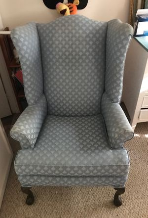 Blue Armchair for Sale in Centreville, VA