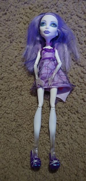 Monster High Doll Purple for Sale in Virginia Beach, VA