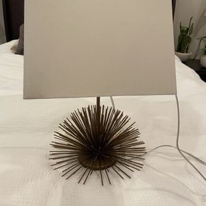 Gold Spiked Lamp! for Sale in Houston, TX