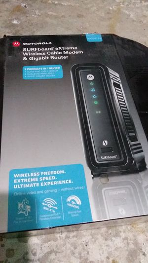 Motorola Wireless Cable Modem & Router for Sale in Humble, TX