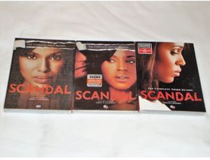 SCANDAL (season 1-2-3)-Dvd-serial for Sale in Tamarac, FL