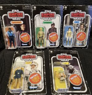 Star Wars collectible vintage retro action figures for Sale in San Jose, CA