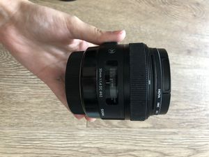 Sigma 30mm F1.4 Camera Lens for Sale in Orlando, FL
