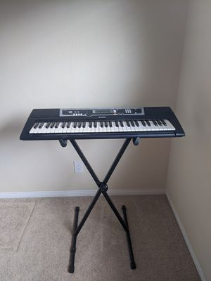 Yamaha Keyboard with Stand for Sale in St. Petersburg, FL