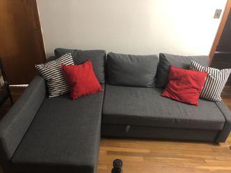 FRIHETEN/ sleeper sectional IKEA for Sale in Pennsauken Township,  NJ