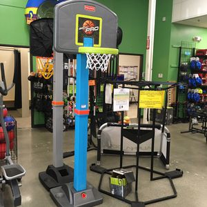 Fisher Price Go Pro Basketball Hoop for Sale in Lynnwood, WA