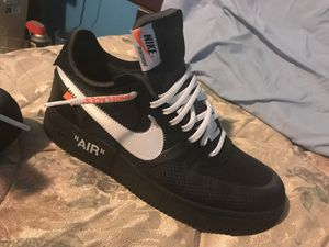 Off white x nike air force 1. Size 10!! for Sale in Bronx, NY