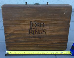 Lord of the Rings Backgammon Game for Sale in Plaistow, NH