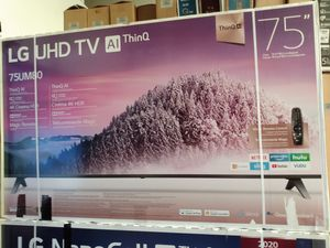 "75"" lg 4k smart led tv for Sale in Orange, CA"