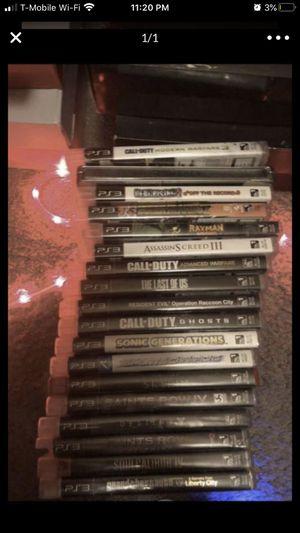8 PS3 Games *READ DESCRIPTION* for Sale in Las Vegas, NV