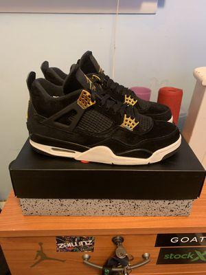 Jordan 4 royalty size 9.5 for Sale in Laurel, MD