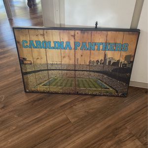Carolina Panthers Canvas for Sale in Miami, FL
