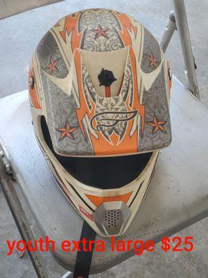 Motorcycle and dirt bike helmets for Sale in La Vergne, TN