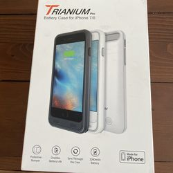 Trianium Atomic Pro Battery Case for iPhone 7 /8 for Sale in San Diego, CA