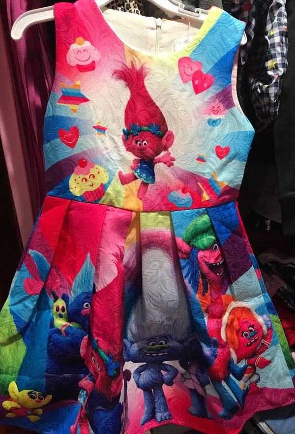 Trolls dress and costume