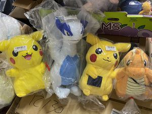 5 Pokémon Plushies and 1 Figure / New With Tags / Pick-up in Cedar Hill / Shipping Available for Sale in Cedar Hill, TX