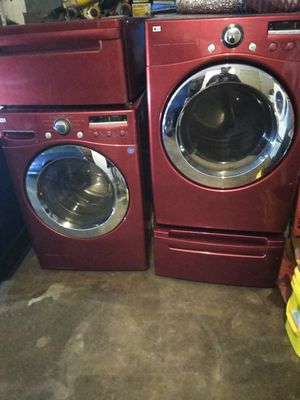 LG front load washer n dryer for Sale in Oklahoma City, OK