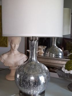 2 Lamps, Shades Have A Couple Of Peels From Inside But The Lamps Are Perfectly Fine, Have Plugs To Charge Your Phones, No HOLDS, PICK UP AT EAST ORL for Sale in Orlando,  FL
