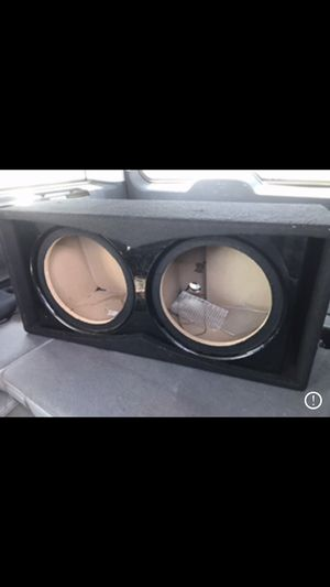 12 inch subwoofer box for Sale in Aurora, CO