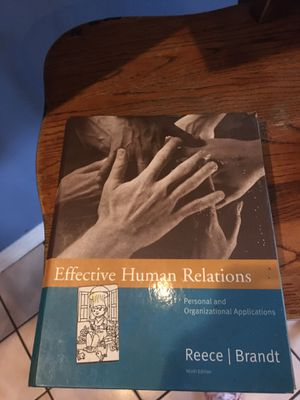 EFFECTIVE HUMAN RELATIONS BOOK for Sale in Allentown, PA