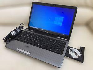 "Toshiba 17.3"" laptop / Windows 10 / Antivirus / Charger / Case for Sale in Tamarac, FL"