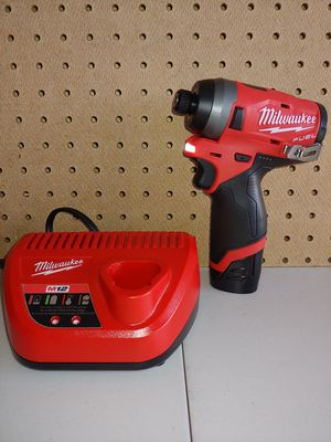 Milwaukee Fuel Impact 12v kit for Sale in Fairview, TX
