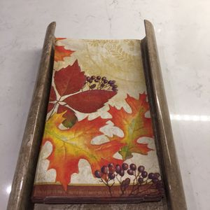 Guest Towel Tray In Mocha Marble for Sale in Downey, CA