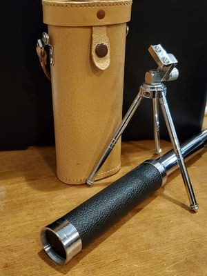 Small Collapsible Telescope with Tripod and Case for Sale in Brooklyn Center, MN