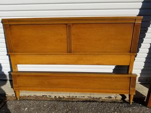Mid century modern twin bed frame for Sale in Hebron, CT