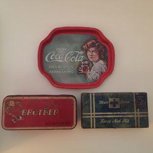 Vintage Tins for Sale in Jacksonville, FL