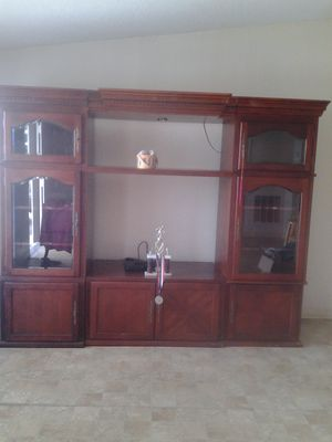 7 pieces entertainment center with TV stand. for Sale in Sebring, FL