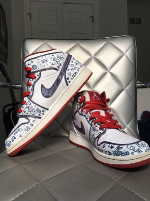Custom Jordan 1's (doodle edition) for Sale in Chicago, IL