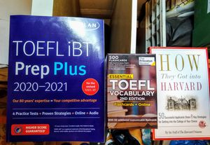 TOEFL iBT prep plus + flashcards FREE TODAY for Sale in Cambridge, MA