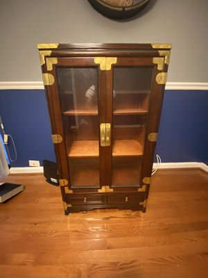Antique Glass Door Cabinets (2 available) 4 Sale! for Sale in Washington, DC