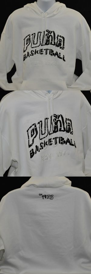 PUMA Men's Hoops Pass The Rock Graphic Basketball Hoodie for Sale in Ontario, CA