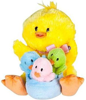 Gemmy Musical Plush Animated Mom with Baby Chicks for Sale in Westminster, CO