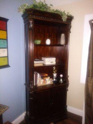 Solid Oak Bookshelve for Sale in Brandon, FL